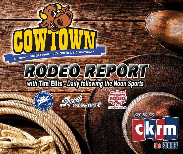 Rodeo Report with Tim Ellis on CKRM